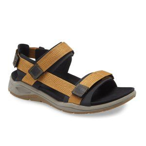 ECCO Men's X-Trinsic Textile Strap Flat Sandal